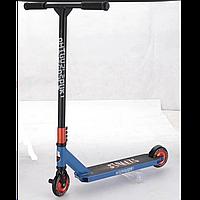 Самокат трюковый Amigo Street Super синий с алюминиевыми колесами, фото 1