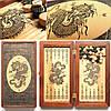 Нарды дорожные  «Китайский дракон»