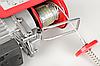 Лебёдка тельфер таль Eurocraft HJ 208.1000 кг 2000 ВАТ лебедка, фото 4