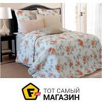 Комплект постельного белья полуторный 153x215 см хлопок белый Блакит Визави полуторный, 70x70см (3315/4893)