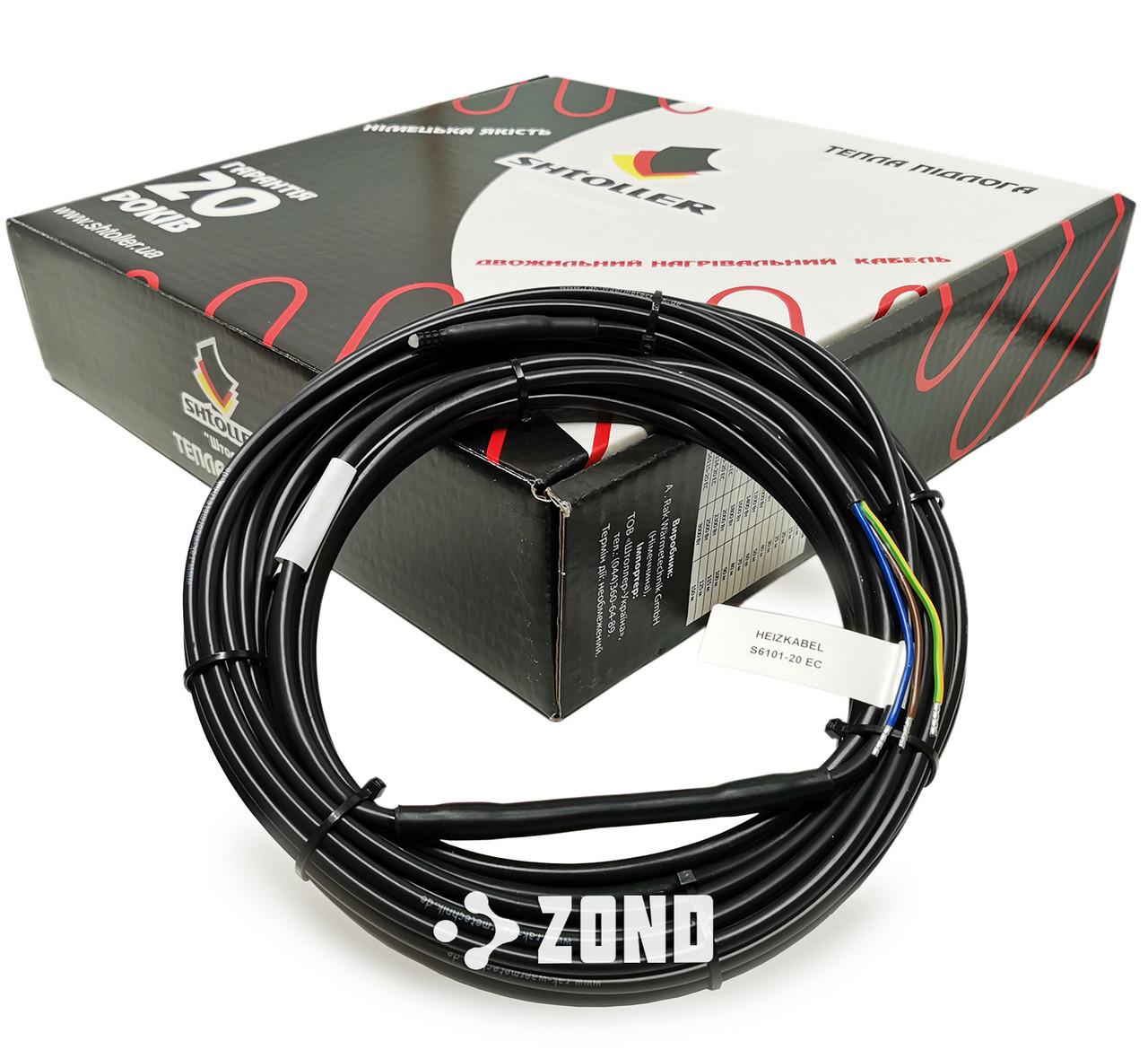 Электрический кабельный пол Shtoller 90 м / 1800 Вт / 9 - 11.2 м² (S6111-20 EC) / под плитку и стяжку