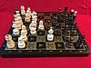 Шахматы деревянные подарочные 44 см Украина с резными фигурами