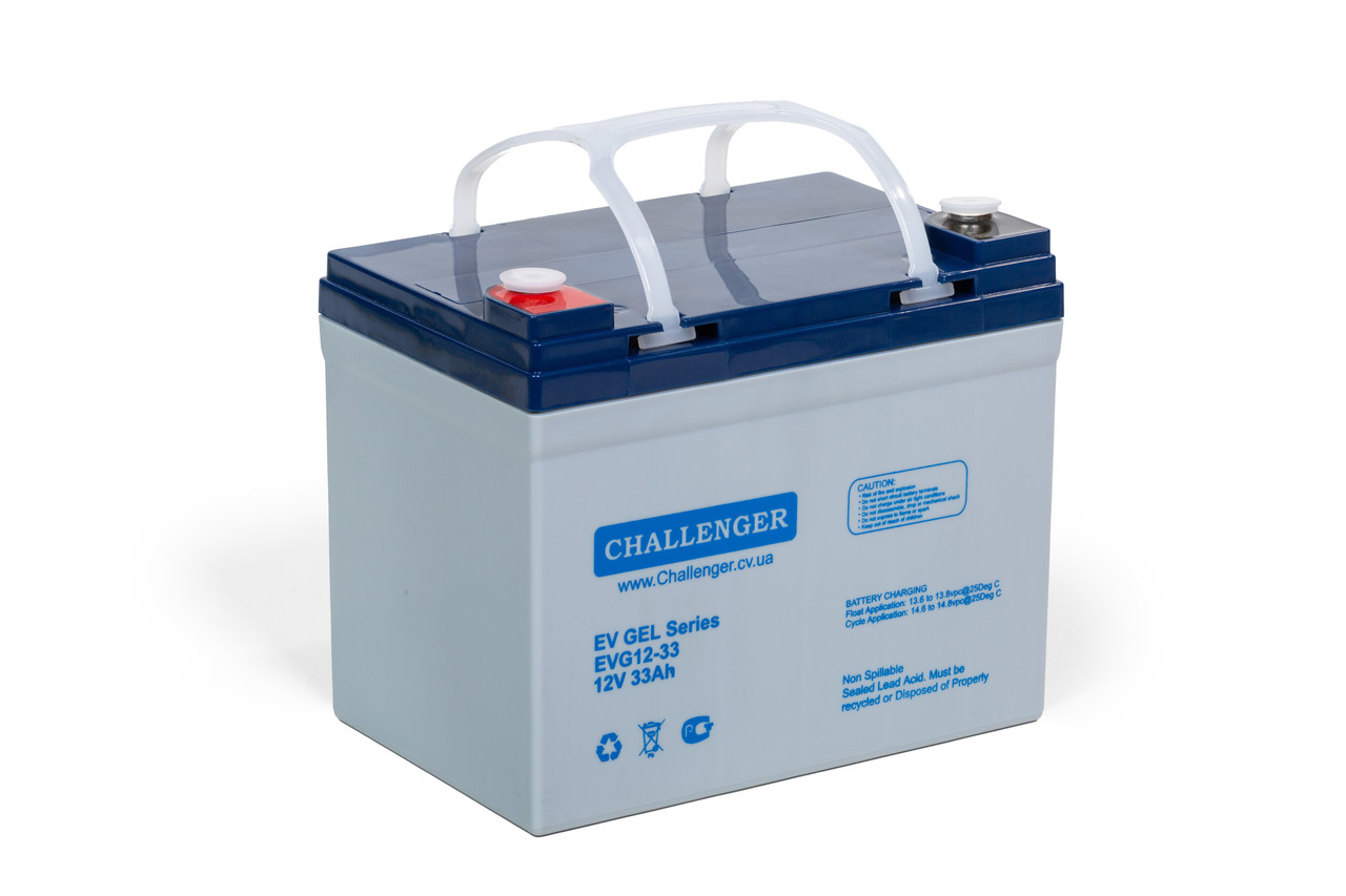 Гелевий акумулятор Challenger EVG12-33
