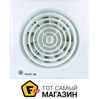 Осевой бытовой накладной (настенный/потолочный) вентилятор вытяжной Soler & Palau Silent-300 CZ белый