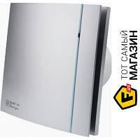Осевой бытовой накладной (настенный/потолочный) вентилятор вытяжной Soler & Palau Silent-200 CZ Silver Design-3C серебристый