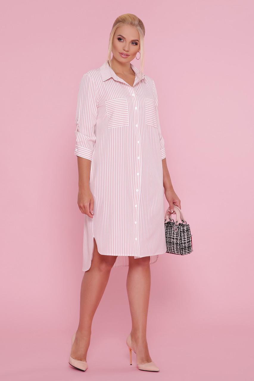 Сукня-сорочка в смужку