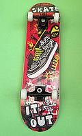 Скейтборд для трюкової і швидкісної їзди Explore Sonic 2, фото 1