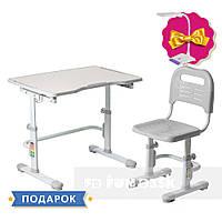 Комплект парта + стул трансформеры Vivo II Grey FUNDESK