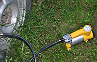 Автомобильный компрессор AC+PRO12 V YELLOW LARGE SINGLE BAR, Насос для шин, Компрессор автомобильный, Запчасти