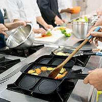 Сковородка Magic Pan, Сковородка универсальная Magic Pan 5 іn 1, Сковорода гриль на 5 секций, Сковорода гриль