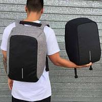 Городской рюкзак Бобби Bobby антивор с USB разъёмом, Рюкзак антивор, Рюкзак с защитой от карманников, Умный