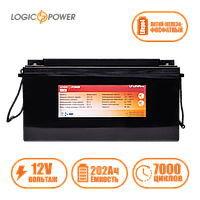 Аккумулятор LP LiFePO4 12 V - 202 Ah (BMS 80A) пластик