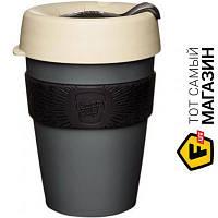 Кружка Keepcup для капучино, дорожная 340 1 шт. пластик цвет серый можно мыть в посудомоечной машине, подходит для микроволновой печи