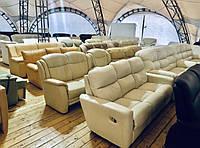 """Кожаный диван «Лагерс"""""""