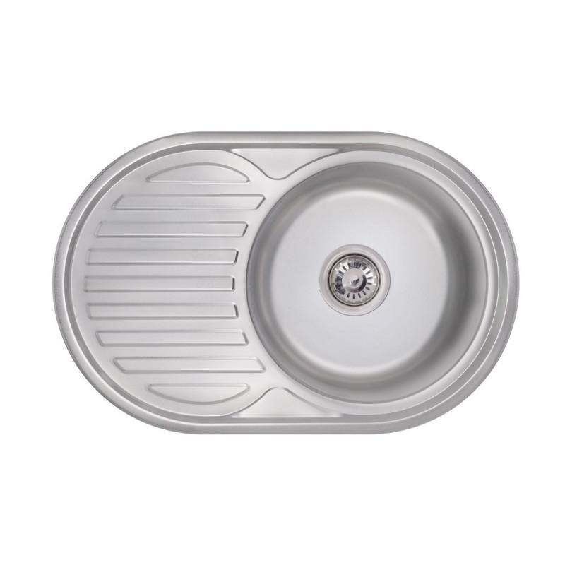 Кухонная мойка Lidz 7750 Polish 0,6 мм (LIDZ775006POL160)