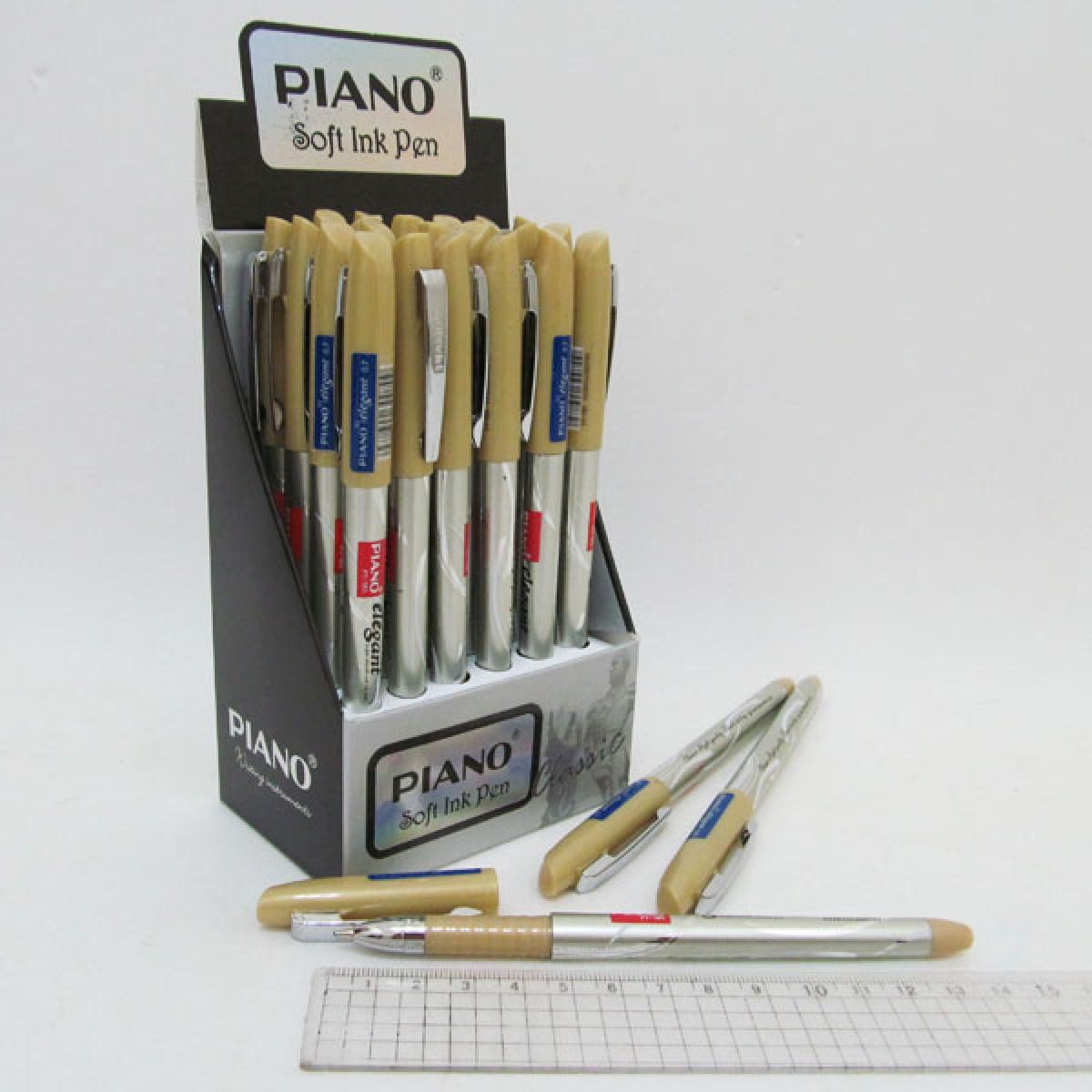 """Ручка масло """"Piano"""" """"Elegant """" синя 24шт в упак. //"""