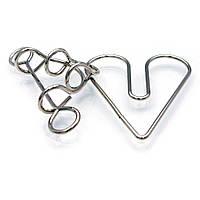 Головоломка проволочная Сердце в плену Kronos Toys krut0251, КОД: 120254