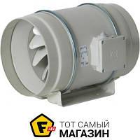Осевой бытовой канальный вентилятор вытяжной Soler & Palau TD-500/160 белый