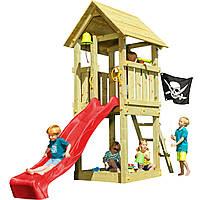 Детская игровая площадка KBT Blue Rabbit KIOSK домик с горкой Красный, КОД: 1429265
