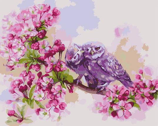 КНО2487 Раскраска по номерам Единение сердец, Без коробки, фото 2
