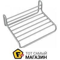 Мыльница для ванной - металл - Metaltex Reflex (404203) - металлик навесное
