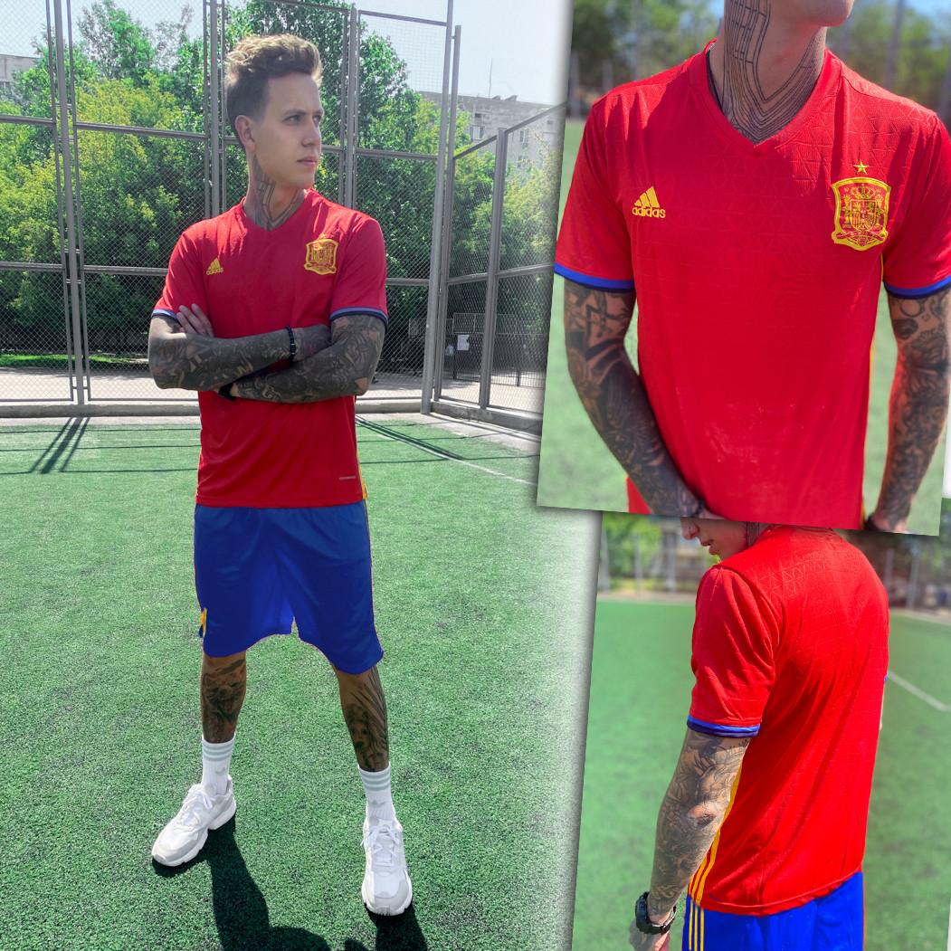 4022-02 костюм мужской футбольный красный (S,S,M,XL, 4 ед.)