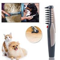 Фурминатор расческа для животных Knot Out щетка для вычесывания