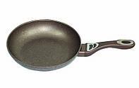 Сковорода алюмінієва з тефлоновим покриттям, товщина 3,5 мм, 22 см
