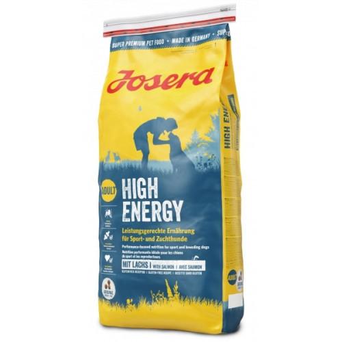 Сухой корм Josera Adult High Energy для взрослых собак с повышенными потребностями энергии, 15 кг