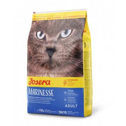 Сухой корм Josera Adult Marinesse гипоаллергенный для взрослых кошек, с лососем, рисом и картофелем, 400 г, фото 2