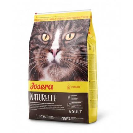 Сухой корм Josera Adult Naturelle для стерилизованных кошек, с чечевицей и форелью, 2 кг, фото 2