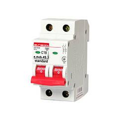 Автоматичний вимикач E. next e.mcb.stand.45.2.C10 10А