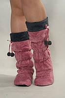 Тапочки - сапожки  с бубончиками для дома  Nicoletta