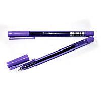 Ручка гелева Hiper Teen Gel HG-125 0,6 мм фіолетова корпус напівпрозорий фіолетовий
