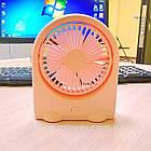 Вентилятор портативный DianDi Kid настольный. Вентилятор аккумуляторный 2 скорости, фото 10