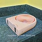 Вентилятор портативный DianDi Kid настольный. Вентилятор аккумуляторный 2 скорости, фото 7