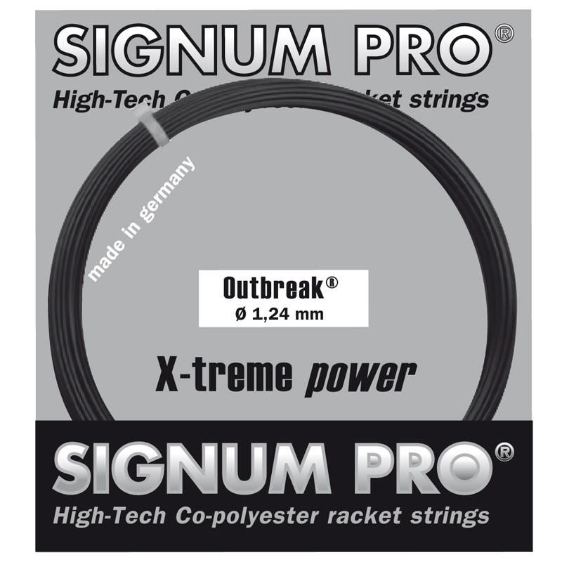 Теннисные струны Signum Pro Outbreak 12.2 м Черный (5254)