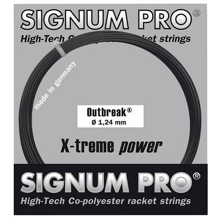 Теннисные струны Signum Pro Outbreak 12.2 м Черный (5254), фото 2