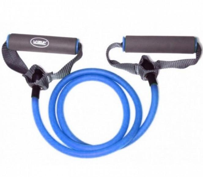 Еспандер LiveUp Tonning Tube 0.6x1.2х120 см H Blue (LS3201-Hb)