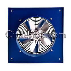 Настінний вентилятор осьовий 280х280 мм