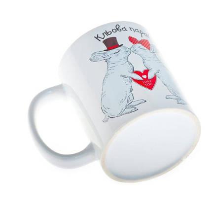 Чашка з кроликами HMD Кльова пара (88-8718159), фото 2
