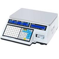 Весы с печатью этикетки СAS CL5000J IB б/у