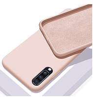 Чехол Silicone Case FULL для Samsung Galaxy A30s (A307) розовый (самсунг галакси а30с)