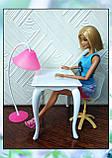 Стол, стул и торшер (аксессуары для кукол), фото 3