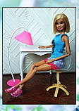 Стол, стул и торшер (аксессуары для кукол), фото 2