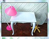 Стол, стул и торшер (аксессуары для кукол), фото 4