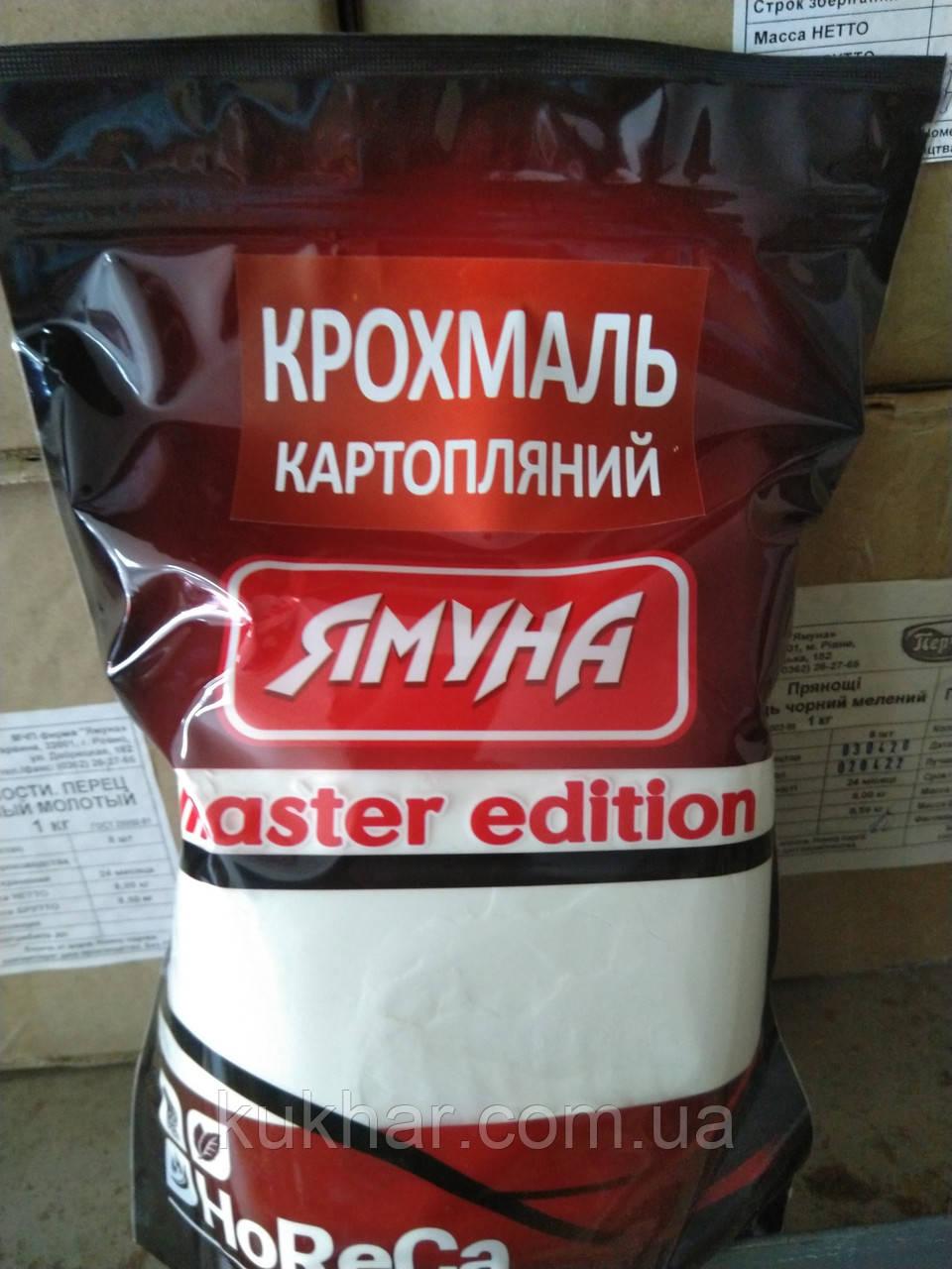 Крохмаль картопляний 1кг/8шт
