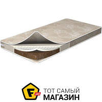 Матрас детский, ортопедический для детской кроватки ширина 60 см длина 120 см беспружинный ватин, кокосовое волокно, латекс Flitex Latex Coconut