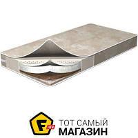 Матрас ортопедический для детской кроватки ширина 60 см длина 120 см беспружинный ватин, кокосовое волокно, латекс, лён, полиэфирное волокно Flitex