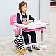 Дитяча парта-растішка і стілець FunDesk Bambino Pink, фото 8